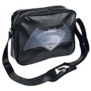 Geanta Batman V Superman Steel Print Logo Messenger Bag