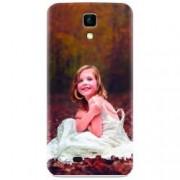 Husa silicon pentru Allview P5 Life Girl In Wedding Dress Atest Autumn