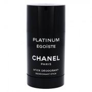 Chanel Platinum Égoïste Pour Homme deodorante stick senza alluminio 75 ml