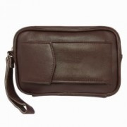 Chimera Leather Passport Pouch(Brown)