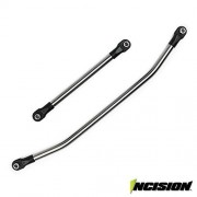 VANQUISH INCISION WRAITH 1/4 STAINLESS STEEL DRAG LINK AND TIE ROD KIT AXIAL IRC00041 by Vanquish