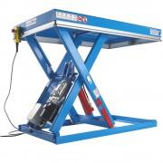 Handlings-Hubtisch Tragfähigkeit 500 kg Hubbereich 220 - 1220 mm, Plattform-LxB 1100 x 1200 mm