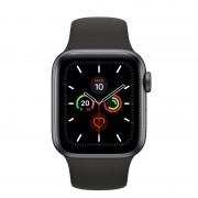 Apple Watch Series 5 GPS 44mm + Cellular Cinzento Sideral com Bracelete Desportiva Preta