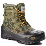 Апрески THE NORTH FACE - Tsumoru Boot T93MKS8HN Termac Green Macrofleck Print/Tarmac Green
