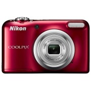 Aparat Foto Digital NIKON COOLPIX A10, Filmare HD, 16.1 MP, Zoom optic 5x (Rosu)
