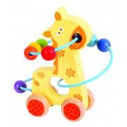 Jucarie dexteritate BigJigs Girafa, 12 luni+