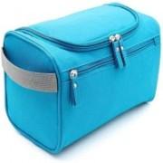 LS Letsshop New Type Cosmetic Bag Multipurpose Bag Travel Toiletry Kit(Blue)