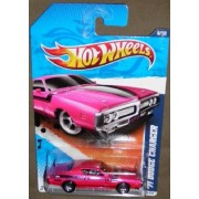 2011 HOT WHEELS MUSCLE MANIA 8/10 K MART DAYS PINK 71 DODGE CHARGER 108/244