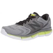New Balance Men's Rubix V1 Running Shoe, steel/hi lite, 10.5 D US