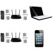 EB Para Android IPhone PC Mini Wifi IP Cámara De Vigilancia Inalámbrica Remoto - Negro