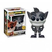Funko Pop Crash Bandicoot Chase Version Black And White Del Videojuego