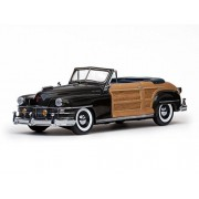 1948 Chrysler Town And Country Gunmetal Gray 1/18 By Sunstar 6141