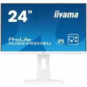 "IIYAMA 24"" LCD iiyama XUB2492HSU-W1 - IPS,4ms,250cd/m2, 1000:1,16:9,VGA,HDMI,"