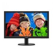 Philips 23.6'' 243V5LHSB5 LED DVI HDMI Czarny