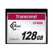 Transcend CFast-kort Transcend CFX650 128 GB