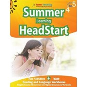 Summer Learning Headstart, Grade 4 to 5: Fun Activities Plus Math, Reading, and Language Workbooks: Bridge to Success with Common Core Aligned Resourc, Paperback/Lumos Learning