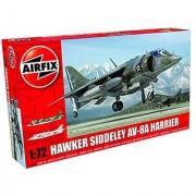 Airfix A04057 Hawker Siddeley Harrier AV-8A Plastic Model Kit (1:72nd Scale)