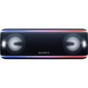 Boxa Portabila Sony SRSXB41B, EXTRA BASS, LIVE SOUND, Bluetooth, NFC, Wi-Fi, Wireless Party Chain, Party Booster, Rezistenta la apa, Efect de lumini (Negru)