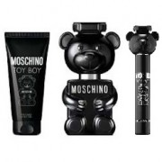 """Moschino - Toy Boy szett II. edp férfi - 100 ml eau de parfum + 10 ml mini parfum + 150 ml tusfürdő"""