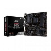 Дънна платка MSI B450M PRO-VDH PLUS, B450, AM4, DDR4, PCI-E (DVI&DVI-D&HDMI), 4x SATA 6.0 Gb/s, 1x M.2 slot, USB 3.1 Gen1, Micro ATX