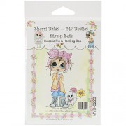 """My-Besties Clear Stamps 4""""X6""""-Sweetie Pie & Her Dog Boo"""