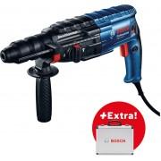Elektro-pneumatski čekić Bosch GBH 240 F, SDS-plus + 11-delni SDS-Plus set (0615990L2S)