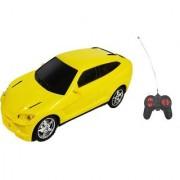 Emob 27MHZ High Speed Super Luxury Model Remote Control Car (Yellow)