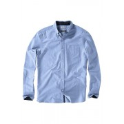 Mens Next Oxford Shirt - Blue