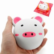Meistoyland Squishy Piggy Bun 9cm Pig Slow Rising With Packaging Collection Gift Decor Soft Toy