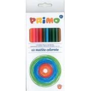 Creioane colorate Primo 12 culori