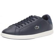 Lacoste Graduate Zapatillas para Hombre, Azul Marino/Blanco Apagado, 13 US