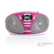Lenco SCD-300 CD radio, pink