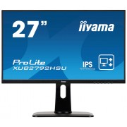 "Monitor IPS, IIYAMA 27"", ProLite XUB2792HSU-B1, 4ms, 80Mln:1, HDMI/DP, Speakers, FullHD"