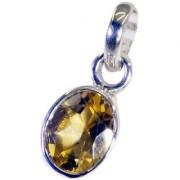 Riyo Citrine Buy Silver Jewelry Eternity Band Pendants L 0.7in Spcit-14048