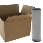 AQUAPRO Cartouches plissées lavables 9-3/4 10 microns - Carton de 20