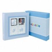 Album foto Baby Stories personalizabil 200 foto 10x15 cm slip-in notes albastru