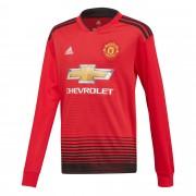 Adidas Manchester United Shirt Thuis 2018-2019 (Lange Mouwen) - Kinderen