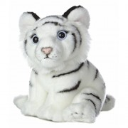 New 2017 Cute Plush Tigers Cub King of Animals Stuffed Toys (White)