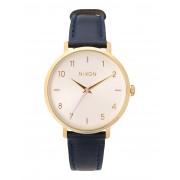メンズ NIXON A1091 Arrow Leather 腕時計 ダークブルー