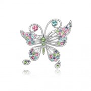 Brosa Multicolored Butterfly