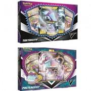 Pokemon Pokémon Polteageist och Toxtricity V Box Samlarkort