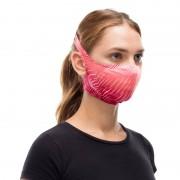 Maseczka antybakteryjna Buff Keren Flash Pink z wyjmowanym filtrem