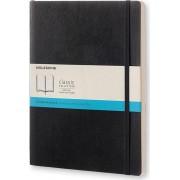 Moleskine Notes Moleskine w miękkiej oprawie XL czarny w kropki