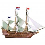 3D Modelo de barco hecho a mano en miniatura de juguete - Navegación