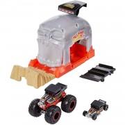 Mattel Pista Mattel Hot Wheels Garage Lanciatore Bone Shaker