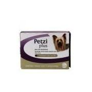 Petzi Plus 400mg Vermífugo Cães 5kg 4 comp Ceva