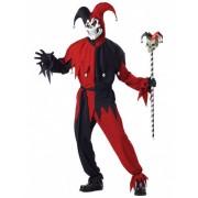 Vegaoo Kostüm verrückter Joker für Männer