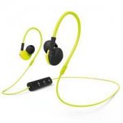 Спортни слушалки HAMA Active BT, In-Ear, Bluetooth, Микрофон, Черен/Жълт, HAMA-177095