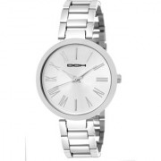 DCH IN-107 Silver Stick Marker Bracelet Designed Analogue Wrist Watch For Women and Girls