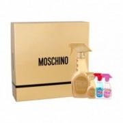 Moschino Cofanetto regalo Fresh Couture Gold Eau de toilette donna 50ml + miniature edt